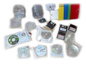 Adhesive-buttons-and-sleeves-for-CD,-DVD-and-CD-Cards